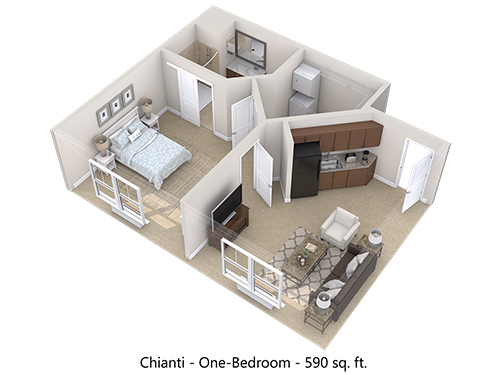 Chianti Floor Plan