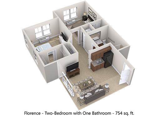 Florence Floor Plan