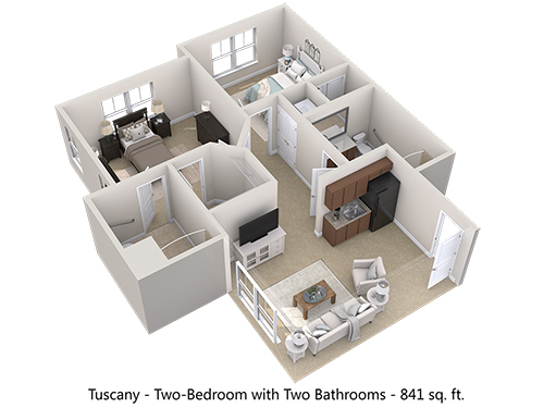 Tuscany Floor Plan