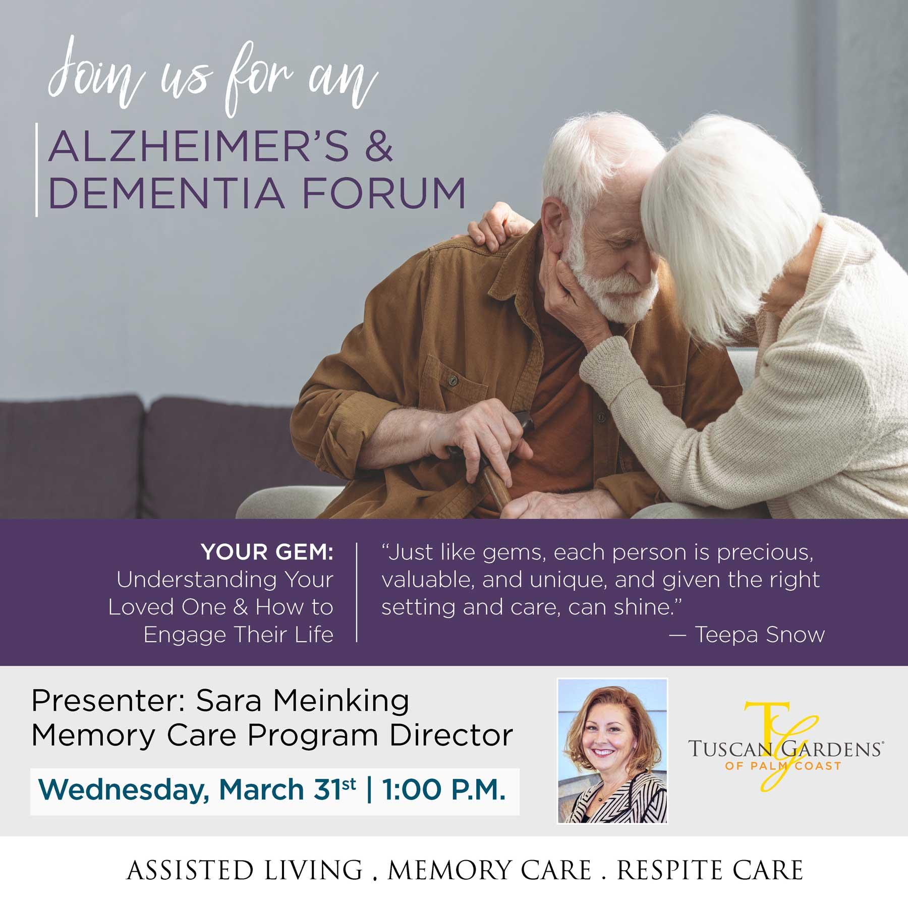 Alzheimer's and Dementia Forum