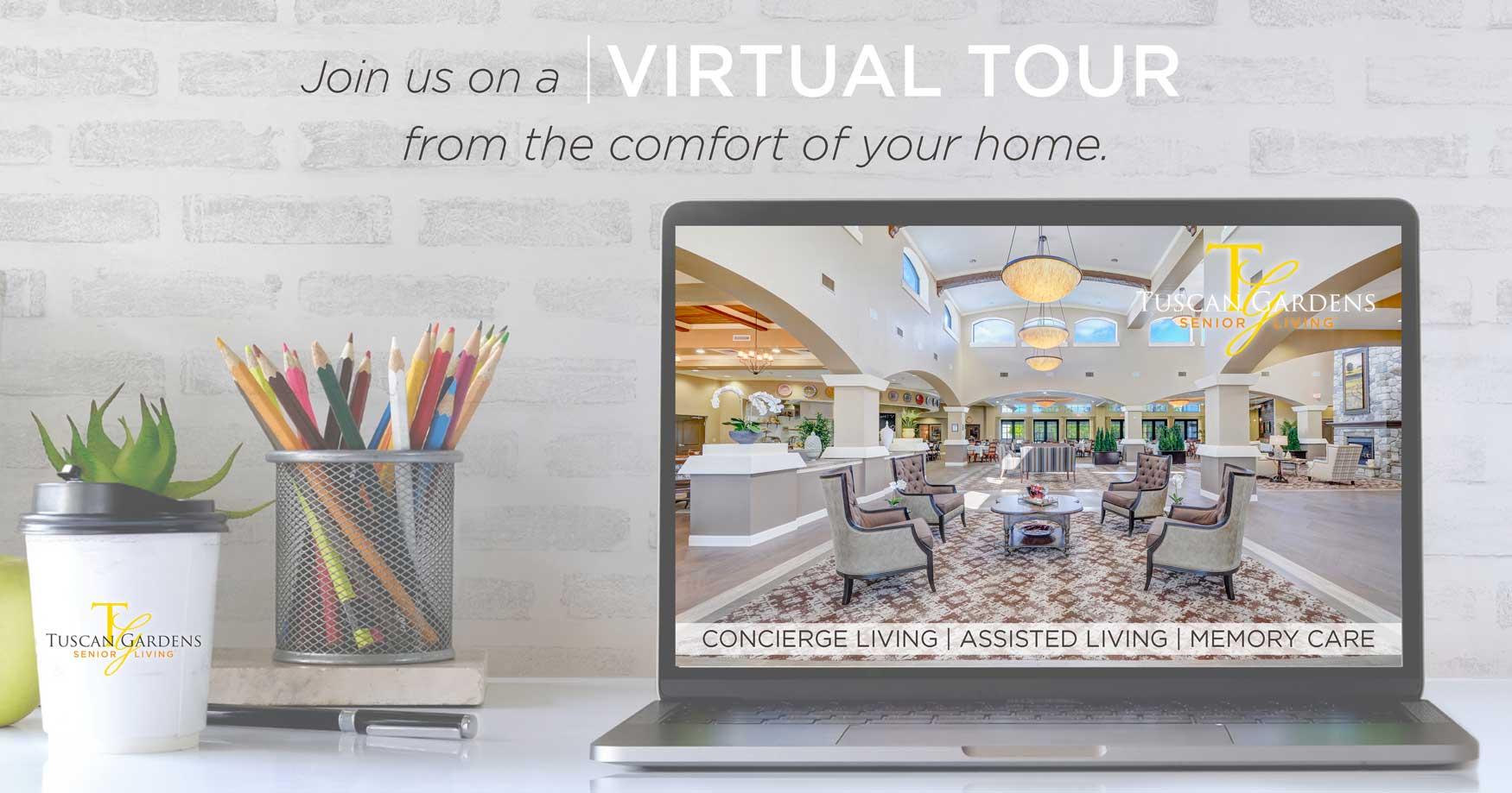 virtual tour senior living