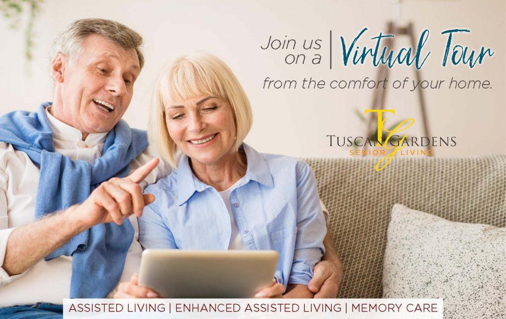 virtual tour Venetia Bay senior living