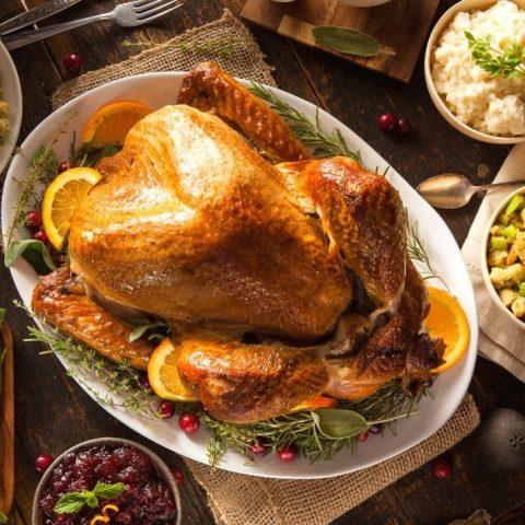 citrus marinated roasted turkey