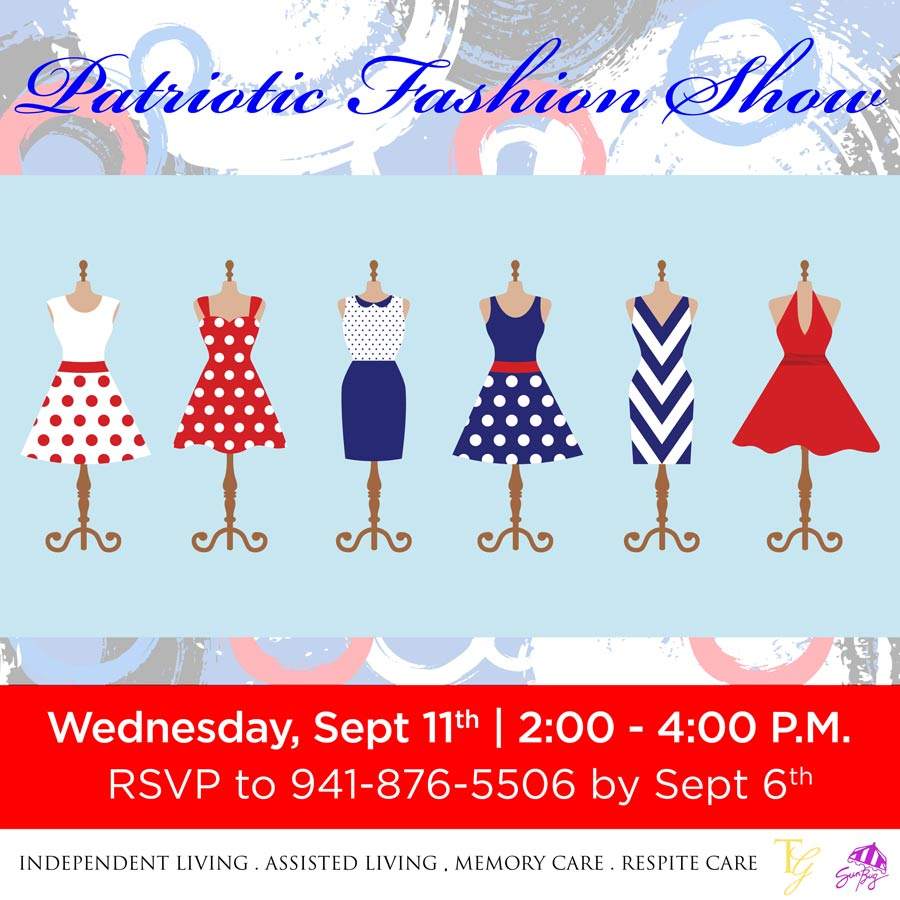 patriotic fashion show