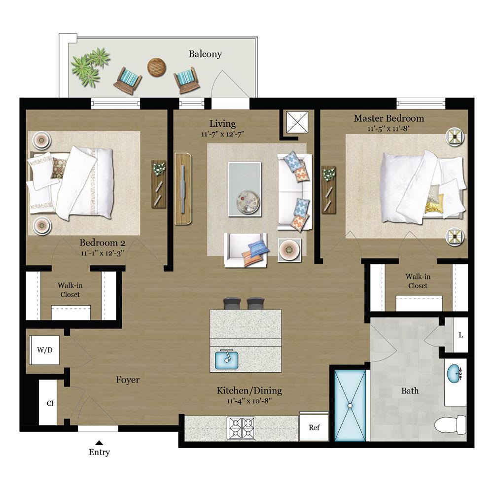 Moscato Floor Plan