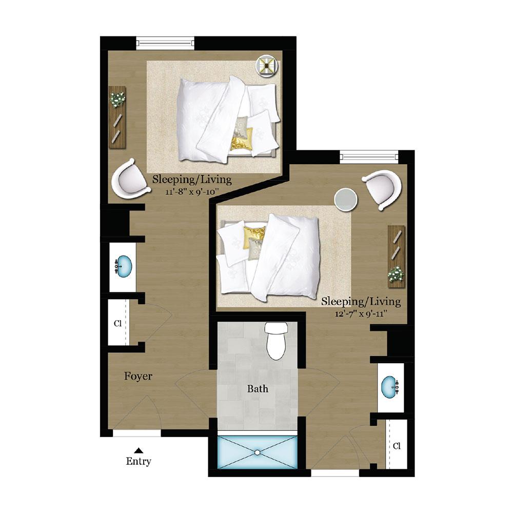 Roma Floor Plan