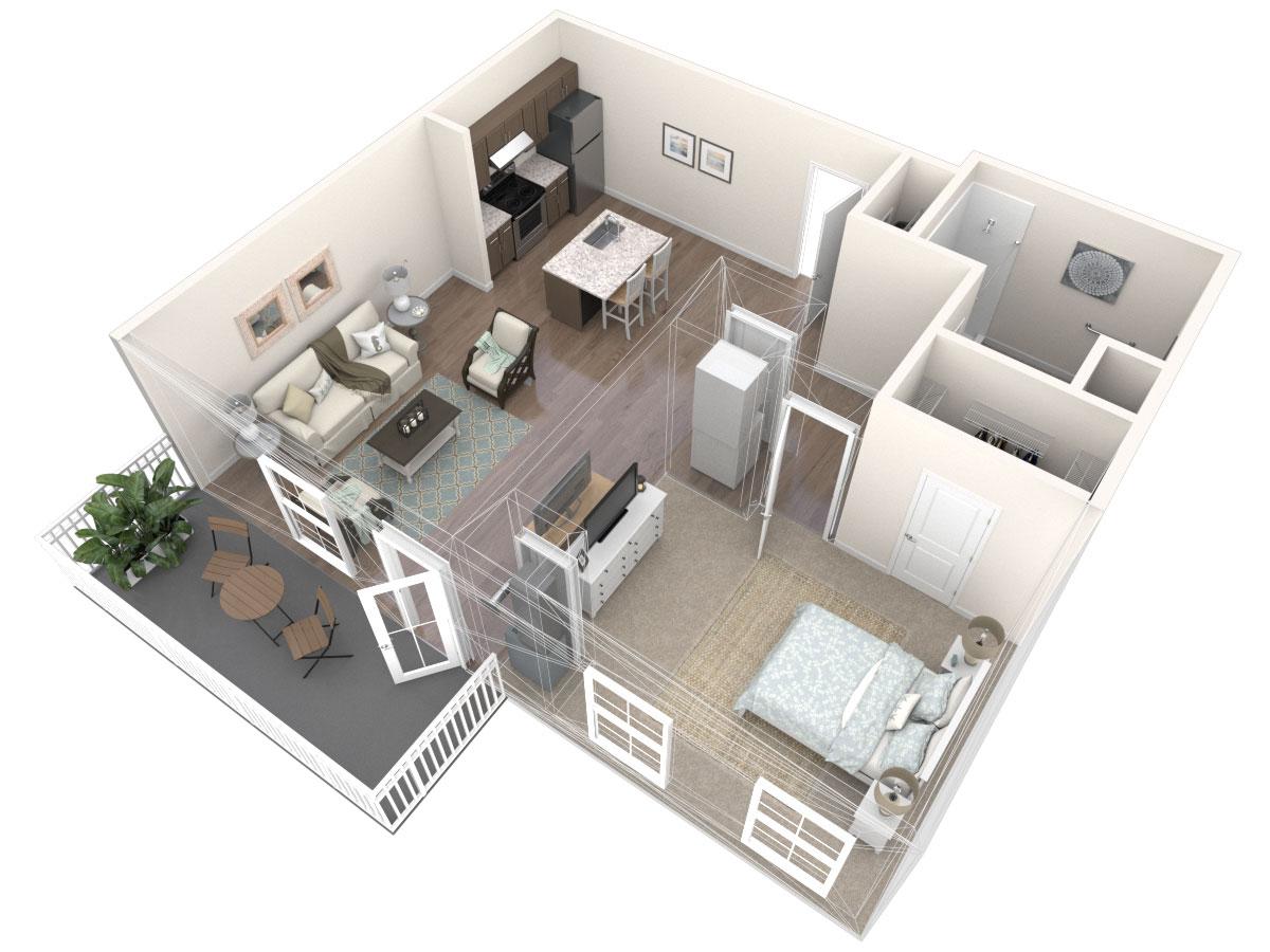 Chianti Floor Plan