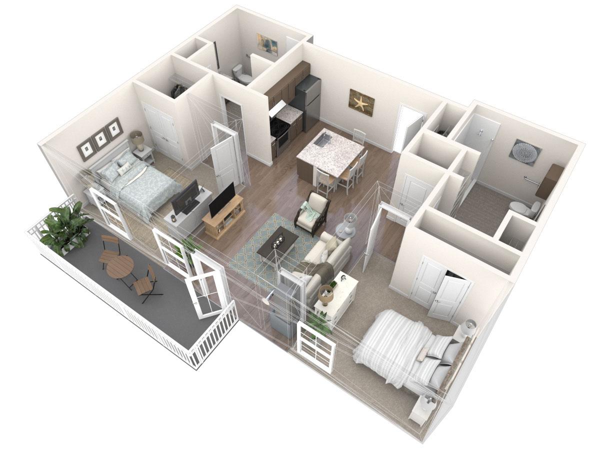 Lambrusco Floor Plan