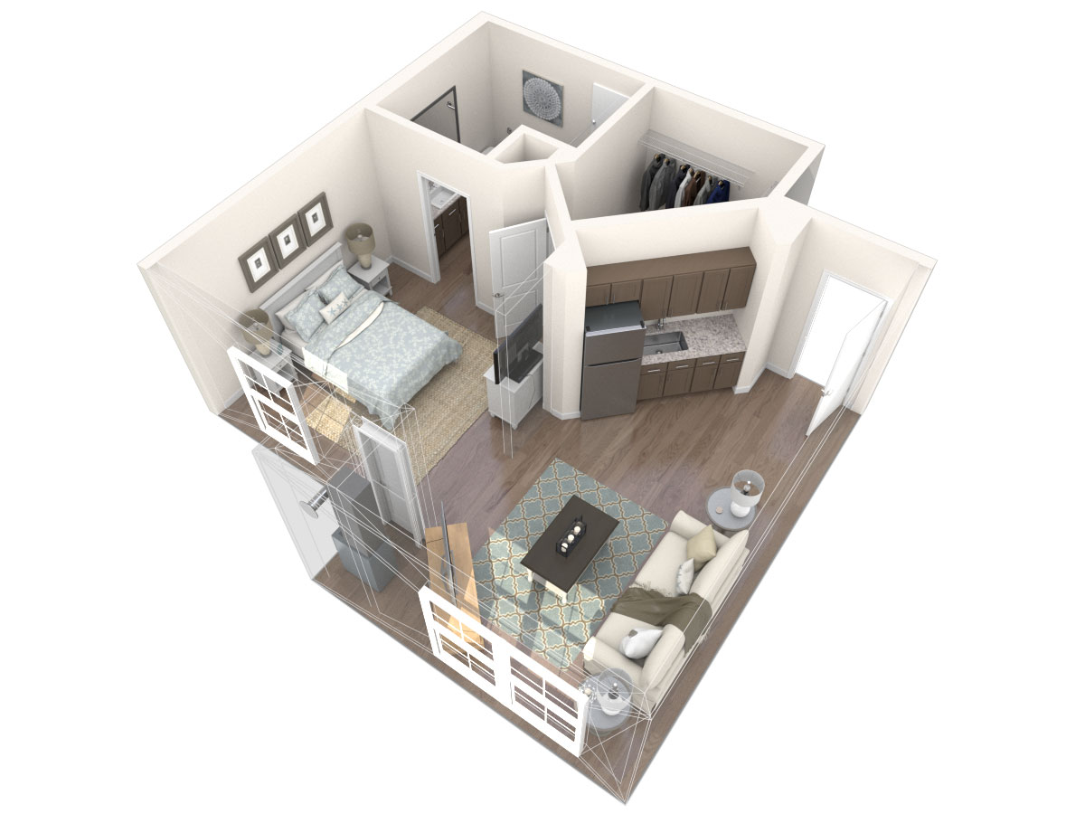 Pisa Floor Plan